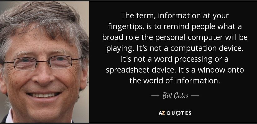 Information At Your Fingertips